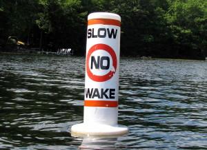 slow no wake Rock River