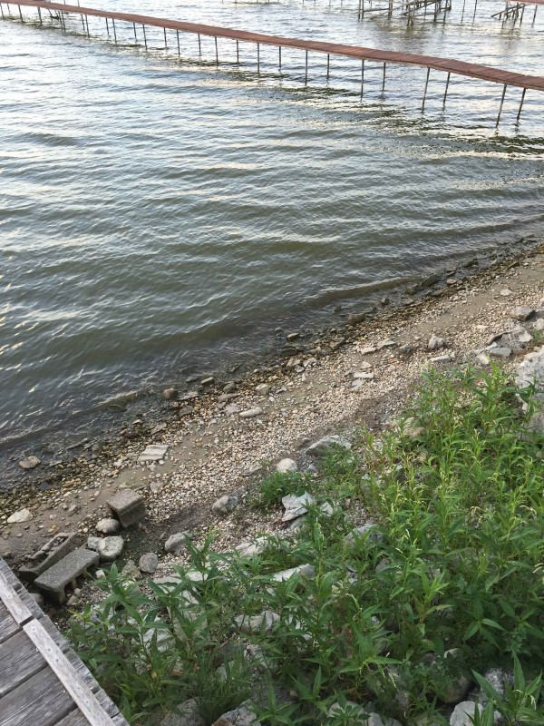 W9687 lake drive mark and tammy reinecke custom rock for Lake koshkonong fishing report